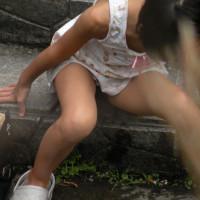 【U15街撮り画像】イマドキのJCが大人過ぎてけしからん盗撮風の街撮り画像