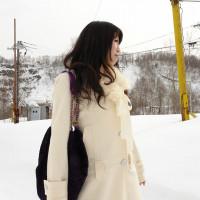 雪原露出 〜オマンコに雪が付いてヒャッ!〜