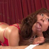 赤のドスケベランジェリー熟女のおまんこを玩具で遊ぶ 高坂保奈美