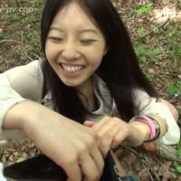 フ●イスブックで知り合ったウブな女子大生と温泉乱交バスツアー!野外編vol.3