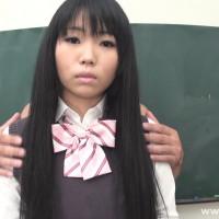 女子校フェチ〜ボーダーパンツのシミ〜【アイコ】
