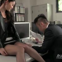淫乱OLの下半身事情 – 丘咲エミリ【ギャル・スレンダー・OL】