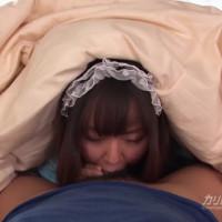 ちんぽ大好きおしゃぶりロリメイド – 希咲良【美乳・メイド・69】