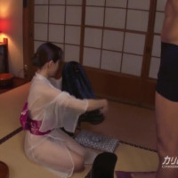 洗練された大人のいやし亭 ~抜き納めは極上のおもてなしで~ – 葉山瞳【クンニ・浴衣・マンぐり返し】