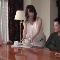 友達の義母 - 逢沢はるか【巨乳・エプロン・クンニ】