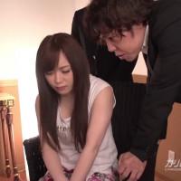 夫の目の前で妻が ~夫の横領が発覚して美人若妻が肉便器に~ - 櫻木梨乃【オナニー・ハード系・中出し】