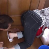 家事代行のドデカいピタパン尻に辛抱できませんでした! - 小衣くるみ【巨乳・エプロン・中出し】